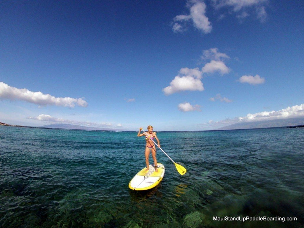 Maui Stand Up Paddle Boarding Lessons Tours Amp Rental